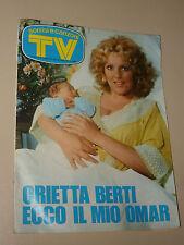 TV SORRISI CANZONI=1975/33=ORIETTA BERTI=DANIEL SENTACRUZ ENSEMBLE=PALIO SIENA=