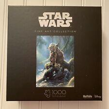Buffalo Games Star Wars Fine Art Collection 1000 pc Puzzle Yoda New Sealed