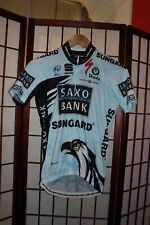 Saxo Bank Sungard Team Uci world Tour Best Team 2010 cycling jersey size S . ALY