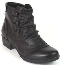 Hush Puppies Ankle Boots 36 LEDERimitat Stiefelette Schwarz Relife Shock H NEU