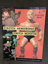Stretch Armstrong Monster Coloring Book Vintage  Excellent Condition 1977 Kenner