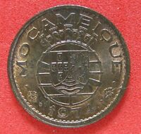 1974 MOZAMBIQUE (PORTUGAL) 20 CENTAVOS COIN  ABOUT  UNC RED/BROWN KM 88 981