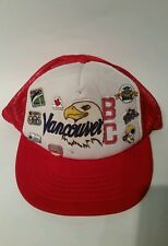 EXPO 1986 VANCOUVER 8 PINS & HAT INCLUDES OPENING DAY