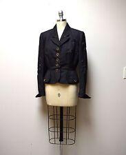VTG 1930s/40s Stern & Mann Fitted Jacket w WabiSabi Sashiko  Visible Mending  XS