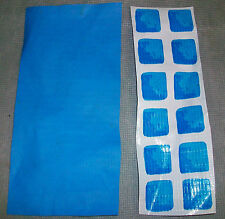 """INTEX POOL PATCH MATERIAL ( 1 ) PIECE ONLY  MATERIAL SIZE IS  7.75"""" X  2.75"""""""