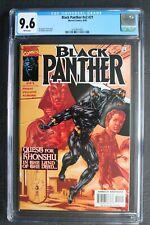BLACK PANTHER #21 Killmonger new BP Nightmare Brother Voodoo MOON KNIGHT CGC 9.6