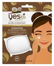 Yes To Coconut Hydrating & Moisturising Single Use Face/Facial SLEEPING MASK