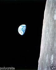 Photo Nasa - Apollo 8 - Lever de Terre vu de la Lune Earthrise Moon