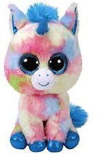 BLITZ THE MULTI COLOURED UNICORN  TY BEANIE BOOS MEDIUM 23CMS  BRAND NEW RELEASE