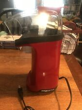 Presto 0484304 Red & Black Popcorn Popper-Rare Model