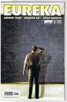 EUREKA #1 A, NM-, TV show, Sci-Fi, 2008, Woodward, Cosby, Barreto, more in store