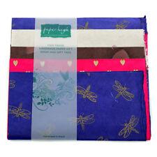 Fair Trade Lokta Paper Five Sheet Gift Wrap Pack GWP85