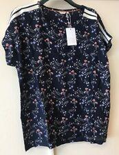 bon'a part blouse Navy Blazer / Cora Size XL {N60}