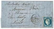 PARIS - BALLON MONTE DU 9 DÉCEMBRE 1870