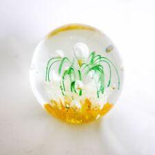 Art Glassware Green Glass Paperweights