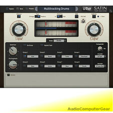 u-he SATIN Tape Machine Simulation Audio Software Tape Delay Effects Plug-in NEW