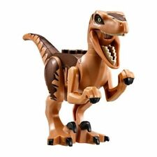 Lego Jurassic World caza del velociraptor Dinosaurier-set