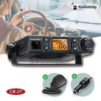 Radioddity CB-27 4W 40CH AM ASQ RFG PAS Car Truck Vehicle Mobile CB Radio >Cobra