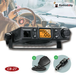 Radioddity CB-27 40CH AM handheld Mini Car Truck Vehicle Mobile CB Radio