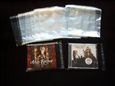 100 CD-Hüllen für Jewel Case mit Verschluss - Neuware