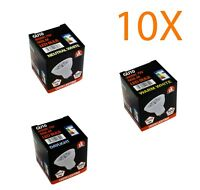 10 x Very bright GU10 Lamp 7W Led Spotlight Downlight Bulb Spot Light Fitting