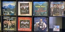 Steve Huber & The Happy Austrians Lot with 7 LP Records + 1 CD All Sealed POLKA