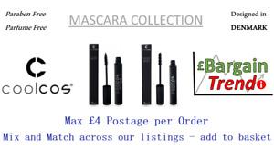 Cool Cos Denmark Paraben Parfum Free Cosmetics MASCARA Collection #BargainTrend