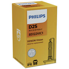 Philips Xenon Vision Replacement D2S Xenon HID Bulb (Single Bulb) 85122VIC1