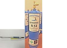Refrigerant 12, Pure R12, r-12, New, 28 oz. Includes On/Off Valve, Tool Kit B