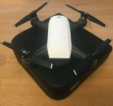 DJI Spark Mini UAV / Camera drone, White - manufacturer refurbished with case