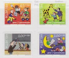 Switzerland 2004 # B688b Set of 4 Rights of Child - Pro Juventute semi-postal