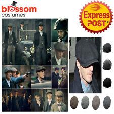 K770 Newsboy Gatsby Cap Tweed Herringbone Cabbie Flat lvy Hat Golf Driving Beret