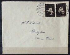 NEDERLAND; NVPH 410 op brief als enkelfrankering dagt. HEKELINGEN (Z.H.) 2-11-43