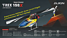AGNRH15E04X Align T-Rex 150X DFC Combo BTF Electric Helicopter Grads and Dad's s