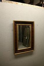 19th Century Empire Style Rectangular Mahogany Ogee Mirror