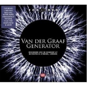 "VAN DER GRAAF GENERATOR ""LIVE AT METROPOLIS STUDIOS 2010"" 2 CD+DVD NEW!"