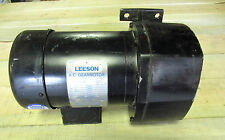 * NEW .. Leeson AC Gear Motor 3PH, .33HP, 59RPM Cat # 107028.00   ..  VY-198