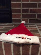 Walter Payton Sweetness #34 Santa Hat