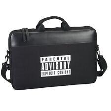 OFFICIAL Parental Advisory Messenger Laptop Bag 15.6'' Inch Devices RRP £19