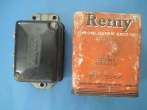 New old stock Delco Remy voltage regulator 1950-1951 Buick