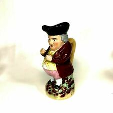 "Antique English Staffordshire Toby Jug 10"""