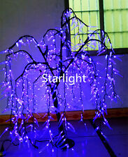 4ft LED Willow Weeping Tree Christmas Light Home Wedding Decor 480pcs LEDs Blue