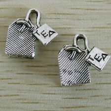 5 x tibetan silver Tea Bag Charms Pendants G84