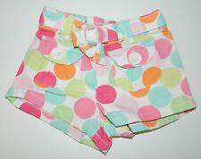 GYMBOREE girls POPSICLE PARTY Polka Dot Shorts* 3 6 months