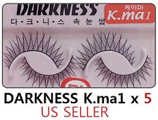 10 Pairs Darkness False Eyelashes Kma1 k.ma k-ma