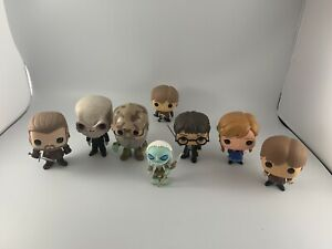 Funko Pop! Lot Of 8! Elsa, Game of thrones, Harry Potters Free Shipping