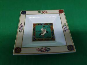 Vintage Rare Villeroy Boch Heinrich Bengal Shivani Trinket Dish 14cm. Gorgeous.