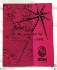 Pub Publicité Journal Petites Annonces immobilière Auray Etel SIN 1980