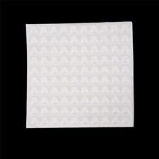 100Pcs Door Self Adhesive Rubber Door Buffer Pad Feet Semicircle Bumpers Qp