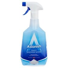 Astonish Daily Shower Cleaner 750ml  No Rinse Limescale Soap Scum Remover NEW